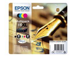 Epson Druckerpatrone 16XL Multipack schwarz
