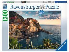 Ravensburger Puzzle Blick auf Cinque Terre 1500 Teile