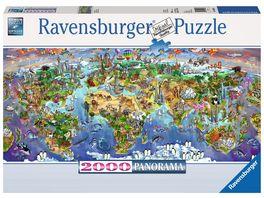 Ravensburger Puzzle Wunder der Welt 2000 Teile