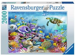 Ravensburger Puzzle Lebendige Unterwasserwelt 2000 Teile