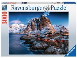 Ravensburger Puzzle Hamnoy Lofoten 3000 Teile
