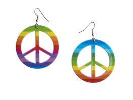 Andrea Moden Peace Ohrringe Multicolor 0706 9