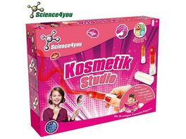 SCIENCE4YOU 181607309 Kosmetik Studio Experimentierkasten