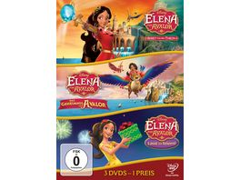 Elena von Avalor Dreierpack 3 DVDs