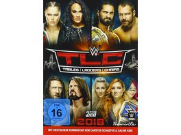 WWE TLC Tables Ladders Chairs 2 DVDs