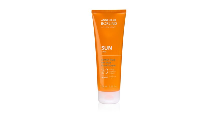 ANNEMARIE BOeRLIND SUN CARE Sonnen Fluid LSF 20