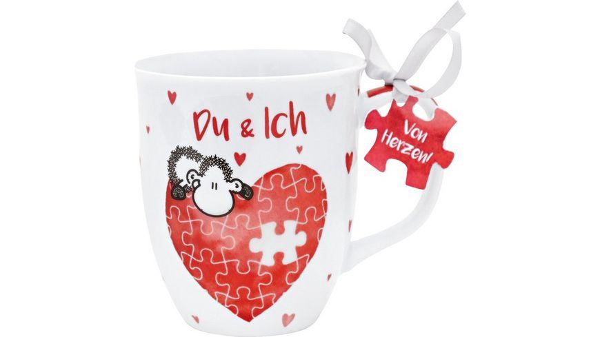 Sheepworld Kaffee Tasse Du und Ich 45321