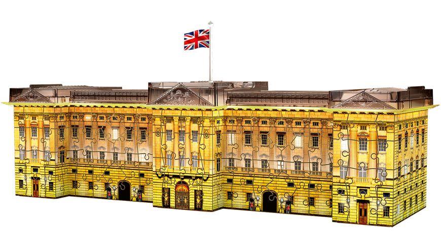 Ravensburger Puzzle 3D Puzzle Buckingham Palace bei Nacht 216 Teile