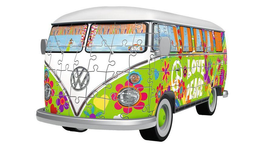 Ravensburger Puzzle 3D Puzzle Volkswagen T1 Hippie Style 162 Teile