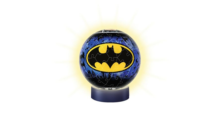 Ravensburger Spiel 3D puzzleball Nachtlicht Batman