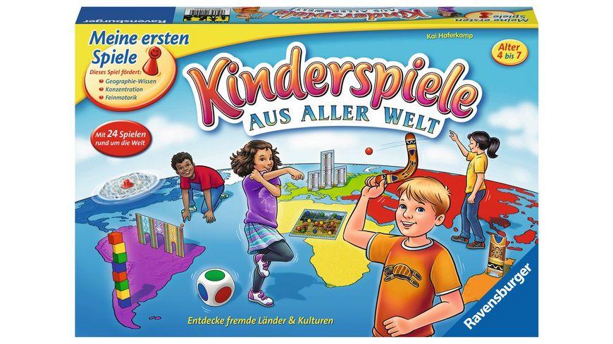 Ravensburger Spiel Kinderspiele aus aller Welt Spielesammlung fuer Kinder von 4 7 Jahren