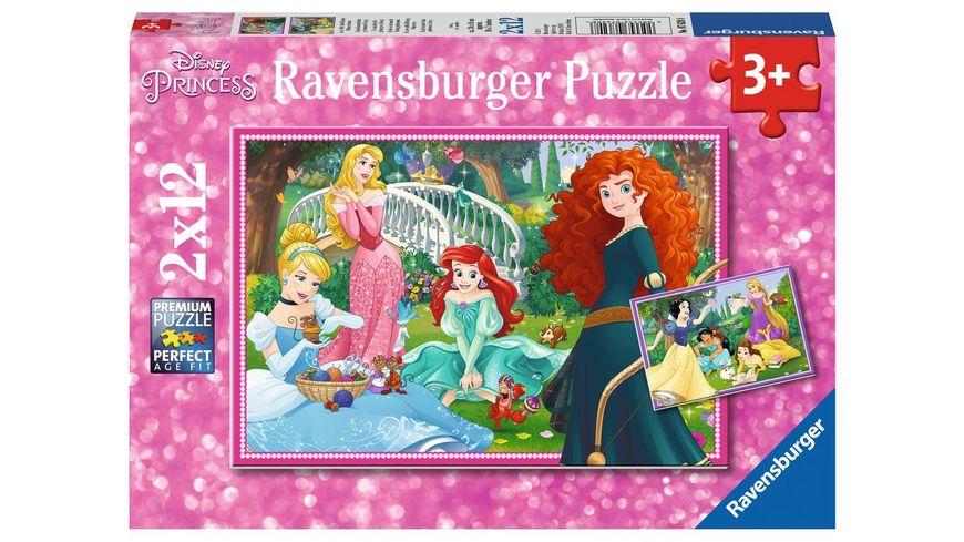 Ravensburger Puzzle In der Welt der Disney Prinzessinnen 2 x 12 Teile