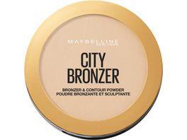 MAYBELLINE NEW YORK City Bronze Puder
