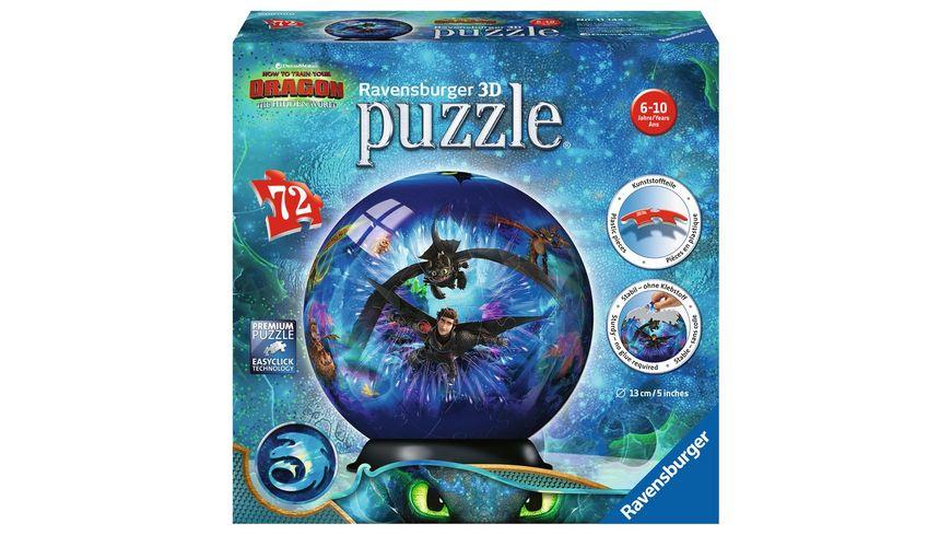 Ravensburger Spiel 3D puzzleball Dragons 3