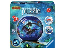 Ravensburger Puzzle 3D puzzleball Dragons 3