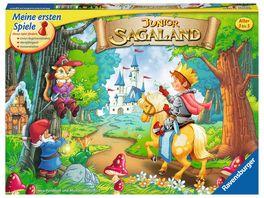 Ravensburger Spiel Junior Sagaland Such und Sammelspiel fuer Kinder ab 3 Jahren