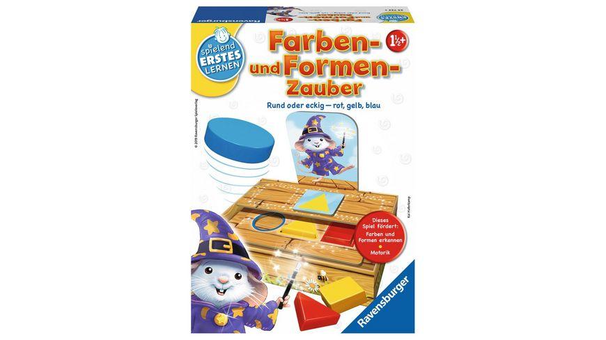 Ravensburger Spiel Farben und Formen Zauber Lernspiel fuer Kinder ab 1 1 2 Jahren