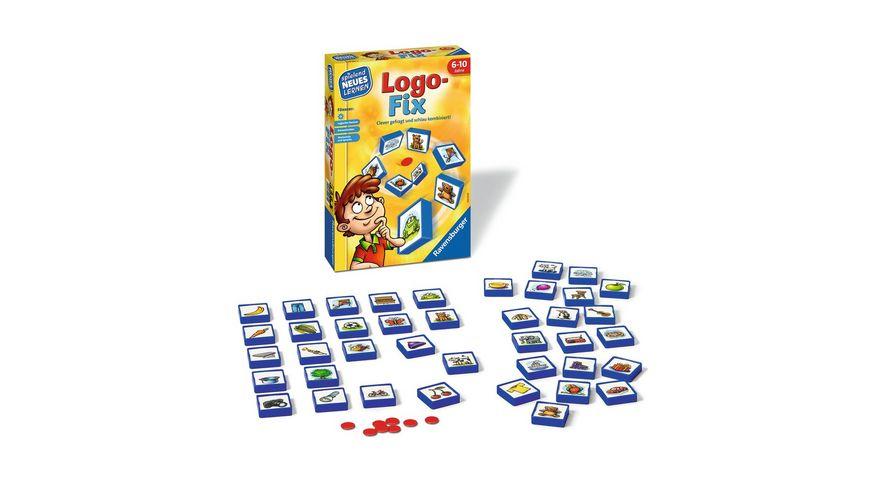 Ravensburger Spiel Logo Fix das Logikspiel fuer Kinder von 6 bis 10 Jahren