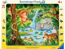 Ravensburger Puzzle Dschungelbewohner 24 Teile
