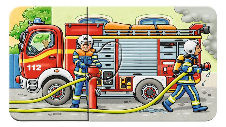 Ravensburger Puzzle my First Puzzles Allerlei Fahrzeuge 9 x 2 Teile