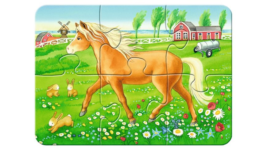 Ravensburger Puzzle my First Puzzle Unsere Lieblingstiere 8 Teile