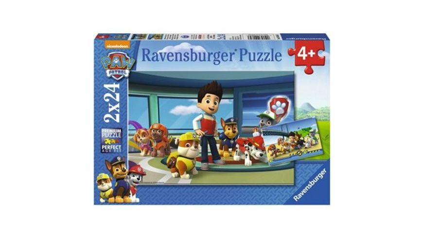 Ravensburger Puzzle Paw Patrol Hilfsbereite Spuernasen 2x24 Teile