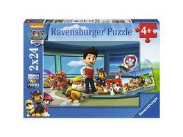 Ravensburger Puzzle Paw Patrol Hilfsbereite Spuernasen 24 Teile