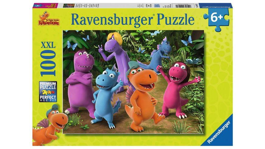 Ravensburger Puzzle Der kleine Drache Kokosnuss Neue Abenteuer mit Drache Kokosnuss 150 Teile