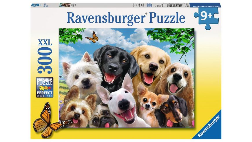 Ravensburger Puzzle Delighted Dogs 300 XXL Teile