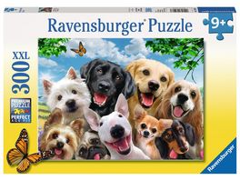 Ravensburger Puzzle Delighted Dogs 300 Teile XXL