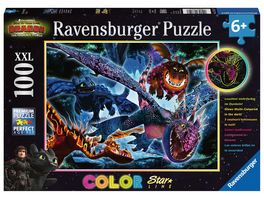 Ravensburger Puzzle Dragons Leuchtende Dragons 100 Teile XXL