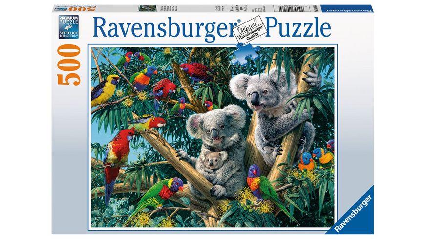 Ravensburger Puzzle Koalas im Baum 500 Teile
