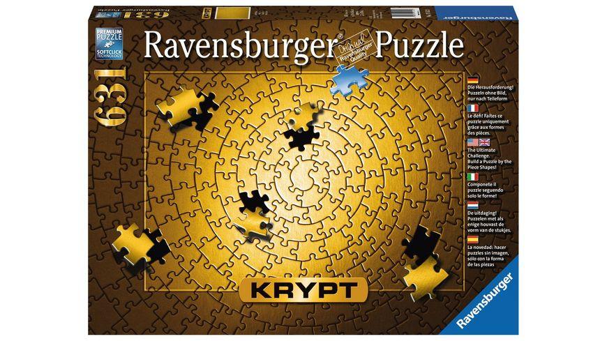 Ravensburger Puzzle Krypt Gold 631 Teile