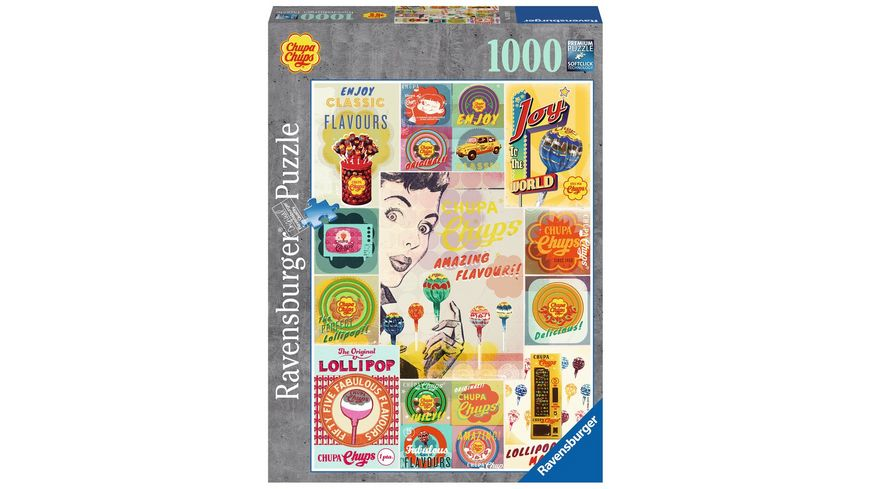 Ravensburger Puzzle Chupa Chups 1000 Teile