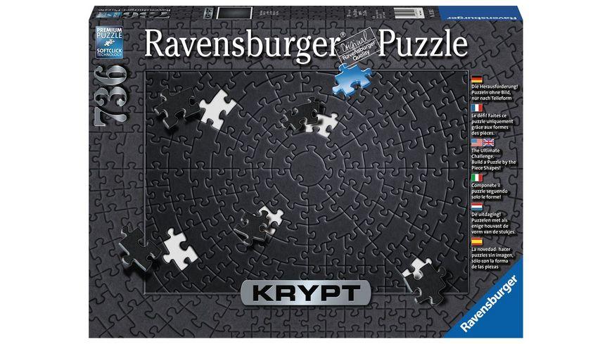 Ravensburger Puzzle Krypt Black 736 Teile