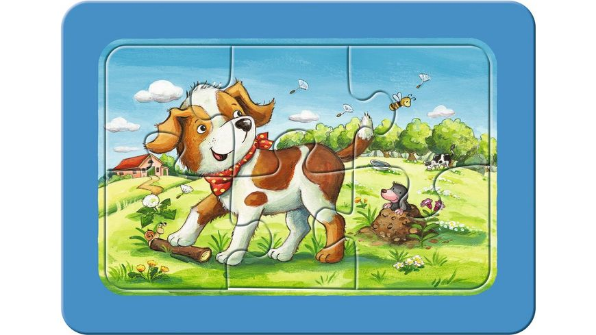 Ravensburger Puzzle my First Puzzle Meine Tierfreunde 6 Teile