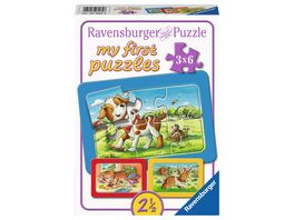 Ravensburger Puzzle my First Puzzle Meine Tierfreunde 6 Teile