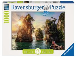 Ravensburger Puzzle Three rocks in Cheow Thailand 1000 Teile