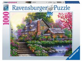 Ravensburger Puzzle Romantisches Cottage 1000 Teile