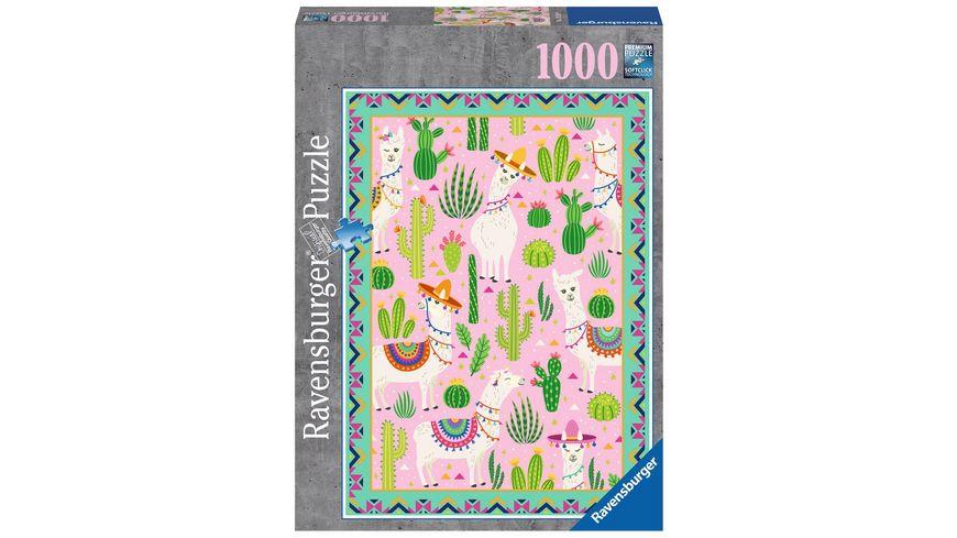Ravensburger Puzzle Suesse Alpakas 1000 Teile