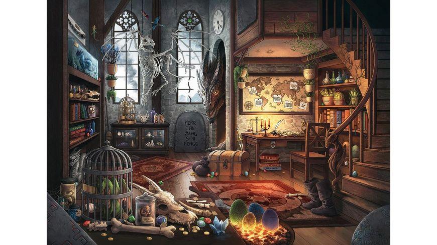 Ravensburger Puzzle EXIT Im Drachenlabor 759 Teile