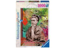 Ravensburger Puzzle Frida Kahlo de Rivera 1000 Teile
