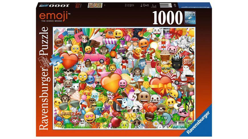 Ravensburger Puzzle Emoji II 1000 Teile