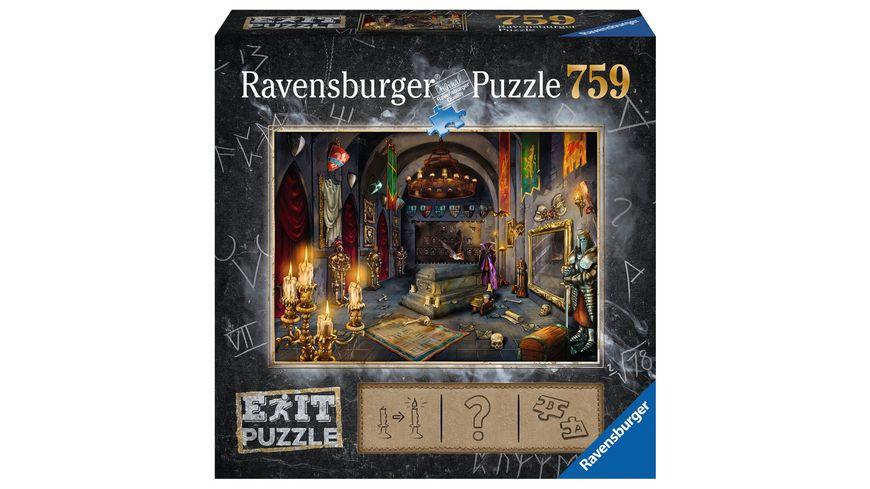 Ravensburger Puzzle EXIT Im Vampirschloss 759 Teile