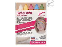 Jofrika 707618 Pastellstifte mit Spitzer
