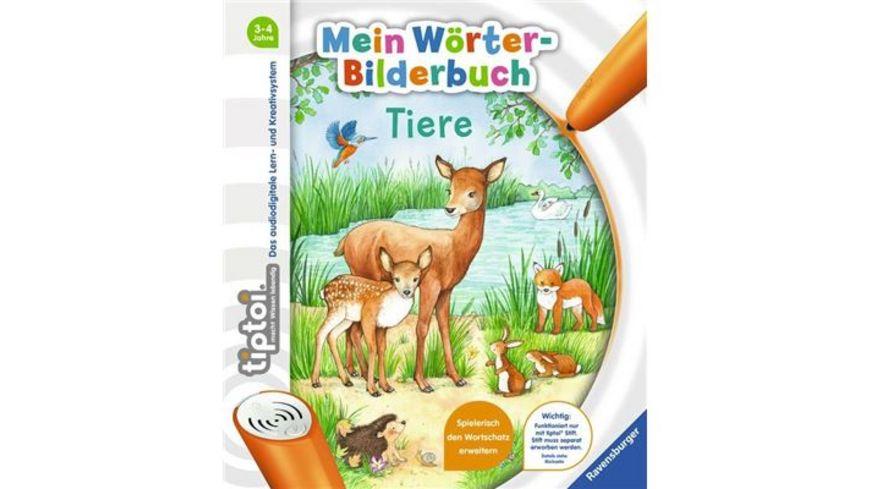 Ravensburger Buch tiptoi Mein Woerter Bilderbuch Tiere