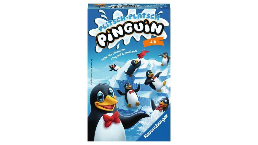 Ravensburger Spiel Mitbringspiel Plitsch Platsch Pinguin