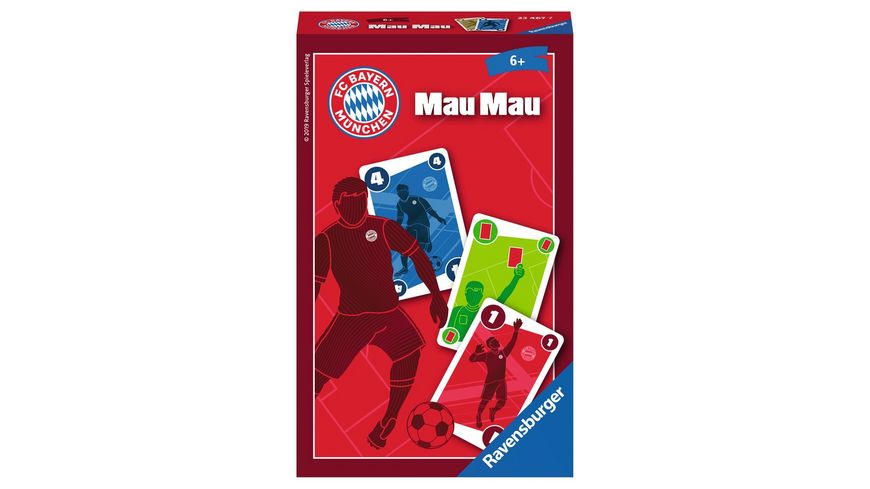 Ravensburger Spiel FC Bayern Muenchen Mau Mau