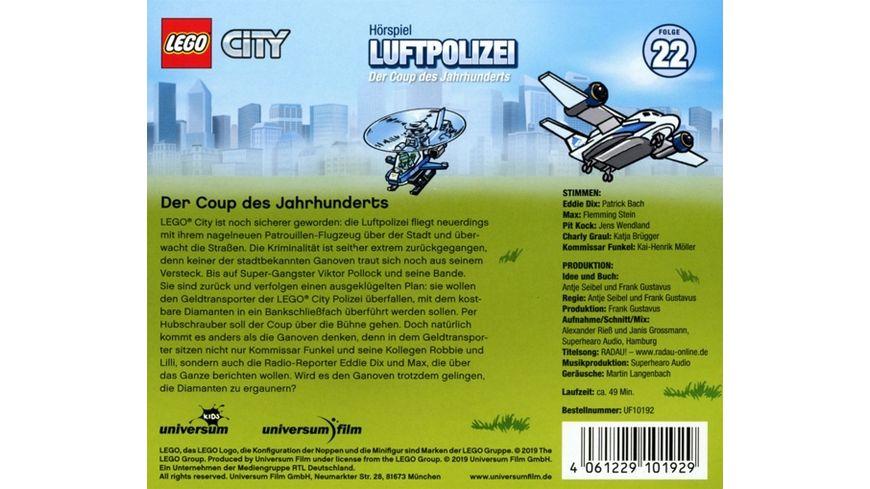 LEGO City 22 Luftpolizei