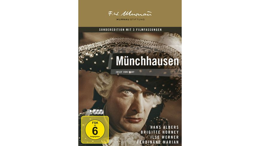 Muenchhausen Remastered 3 DVDs